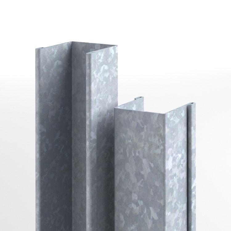 guide in ferro zincato