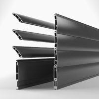 Tapparella frangisole orientabile in alluminio