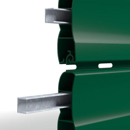 barre di rinforzo per tapparelle in pvc